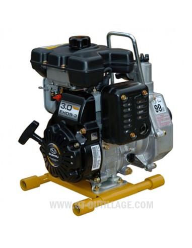 Motopompe portable essence eaux claires à moyennement chargées 125 l/min WORMS ROBIN-SUBARU