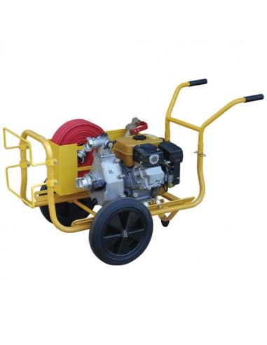 Motopompe Incendie essence haute pression 400 l/min WORMS ROBIN-SUBARU