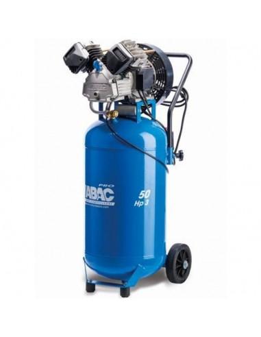 Compresseur d'air à piston entraînement direct 50 litres 3 CV ABAC