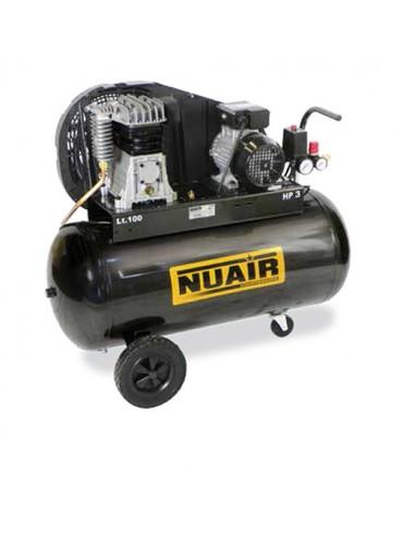 Compresseur d'air à piston 150 litres moteur monophasé de 3 CV NUAIR
